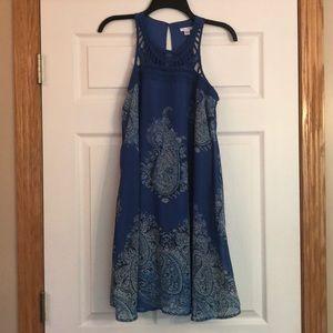 xhilaration Sleeveless Crochet Dress - M